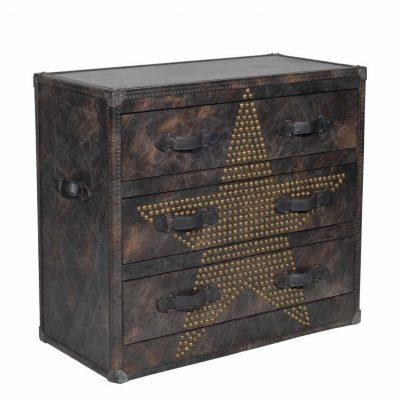 Vintage Chest of Drawers Star Studded Fudge (COD0033)