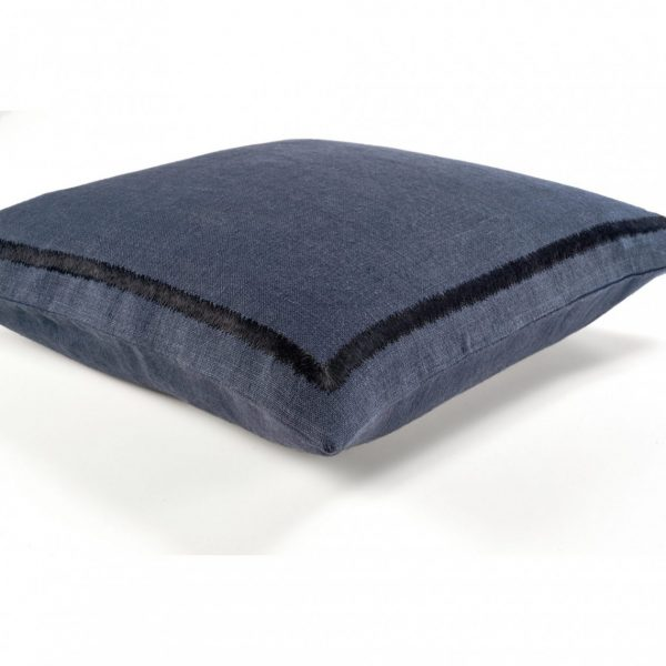 Kea Navy Linen Cushion