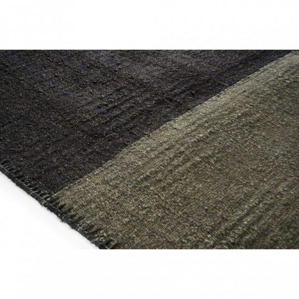 Ahora Dogon Large Handwoven Linen Rug Detail