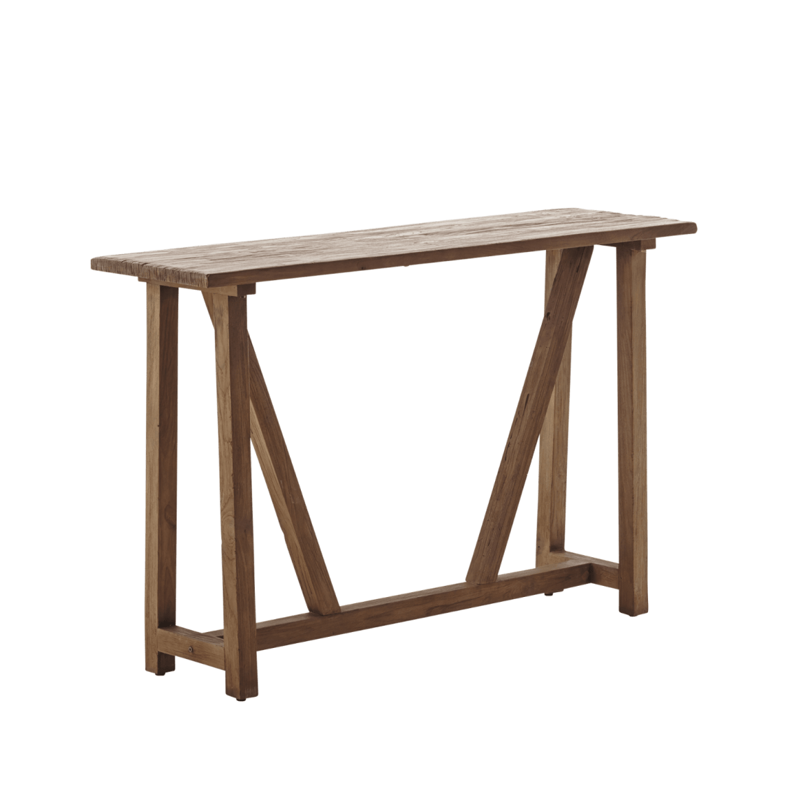 Reclaimed teak console table camilla bellord interiors lucas reclaimed teak console table geotapseo Image collections