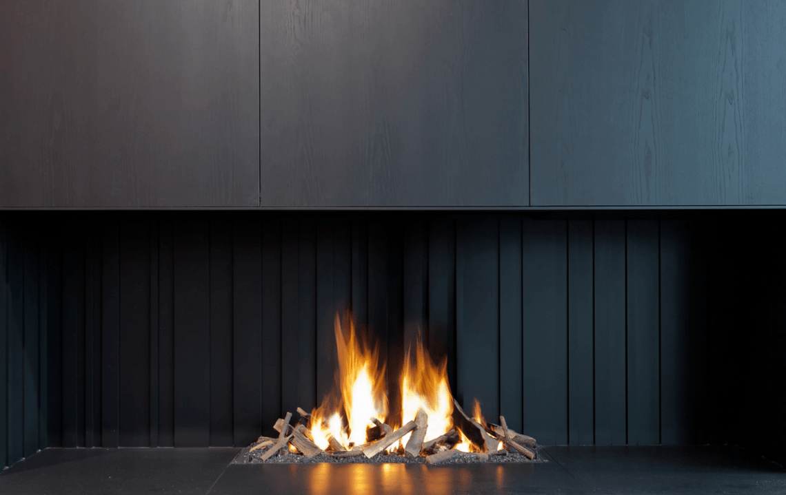 Metal Fire Architectural Fireplaces