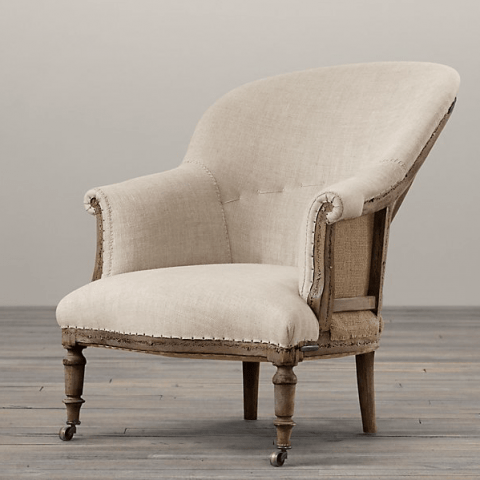 Restoration Hardware Deconstructed French Napoleonic Chair