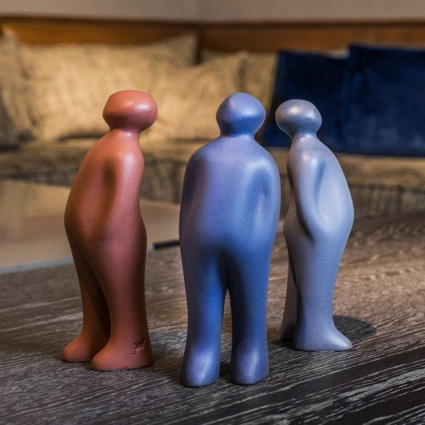 The Visitor Ceramic Sculpture