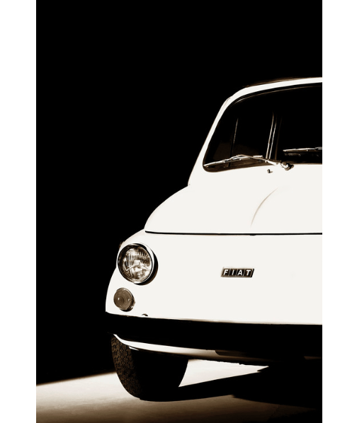 Fiat 500 Limited Edition Print