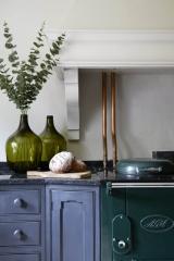 Little Greene Paint Colours: Lamp Black and Portland Stone